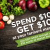 Use Your EBT Card at Participating Farmers Markets